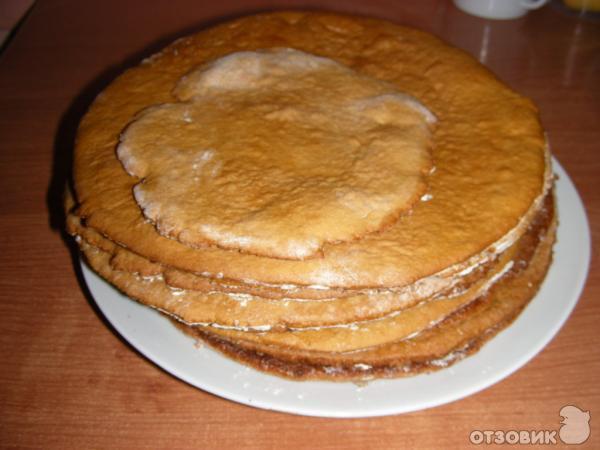 Торт рыжик с пошаговым
