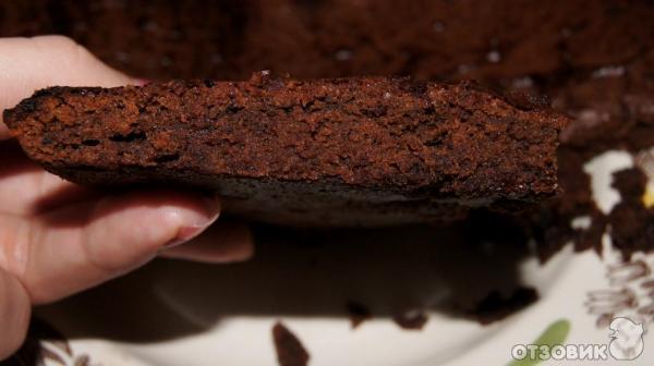шоколадный бисквит с горьким шоколадом рецепт