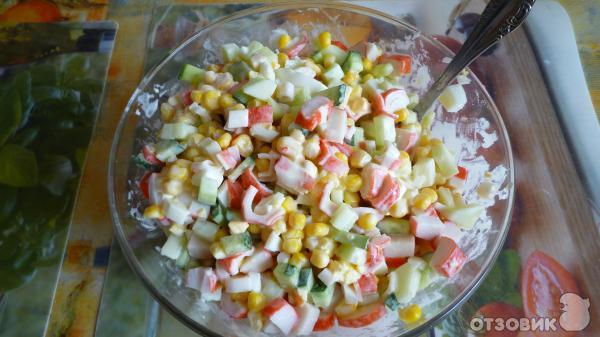 Приготовление простых, легких, быстрых салатов