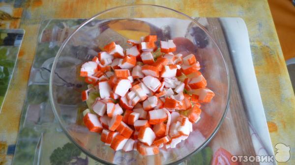 Салат на скорую руку рецепт с фасолью