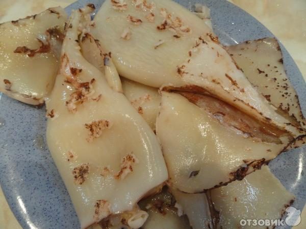 Рецепт Кольца кальмара в кляре фото