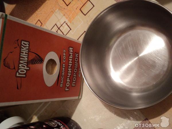 Рецепт Домашняя горчица фото