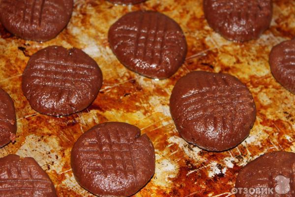 Рецепт печенье Шоколадное фото