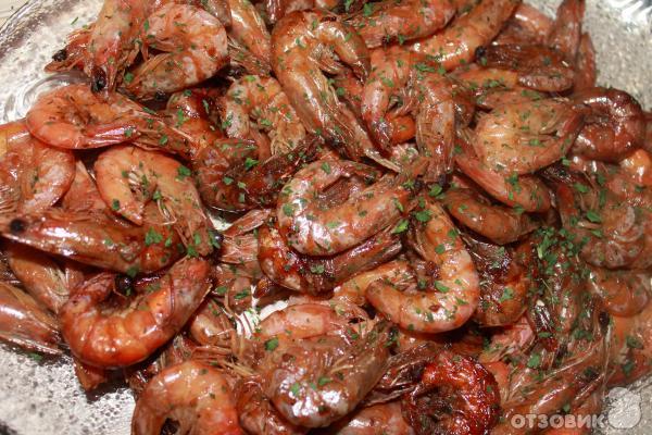 креветки жареные в соевом соусе рецепт с фото