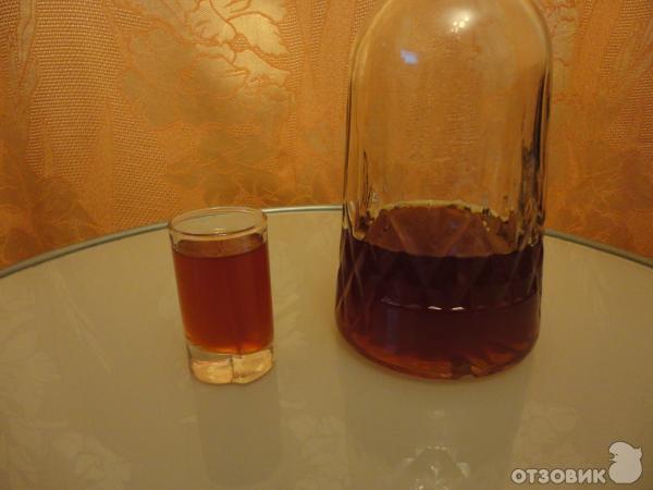Кедровица на спирту в домашних условиях