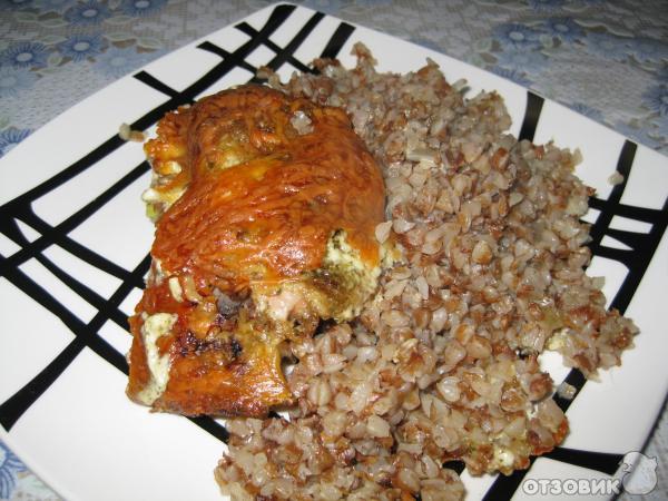 Рецепт гречка запеченная с курицей в духовке пошагово
