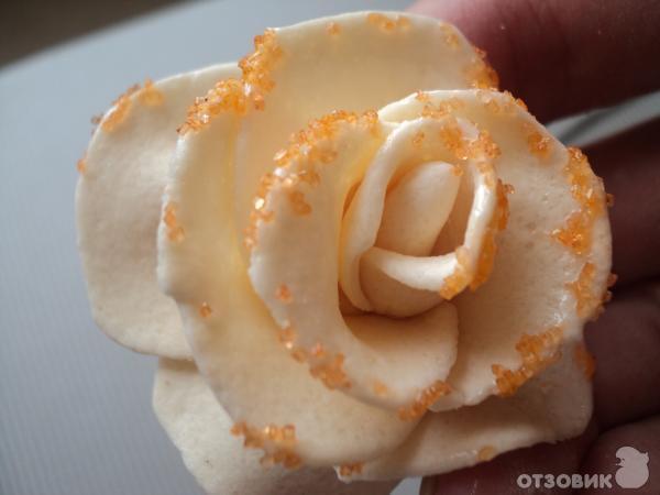 Мармешлоу своими руками для тортов. Рецепт: Розы из марципана
