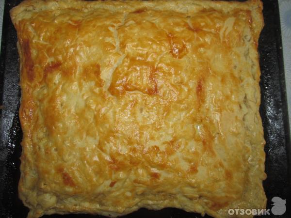 Пироги с яблоками из готового теста