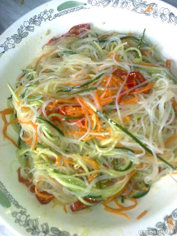 Фунчоза по-китайски рецепт и пошаговым приготовлением