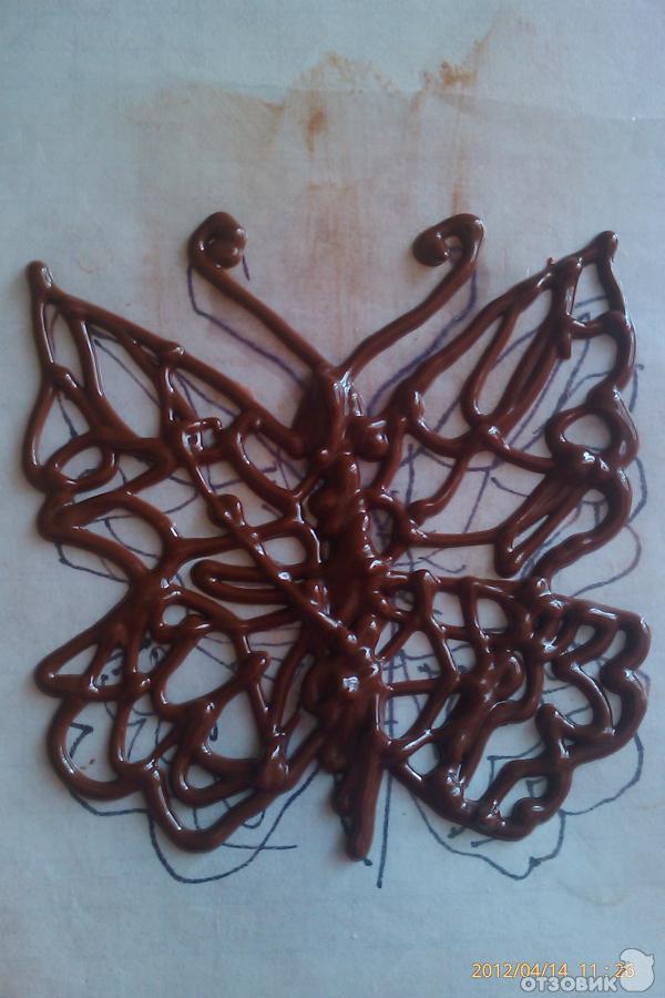 рецепт бисквитный торт с шоколадным кремом фото