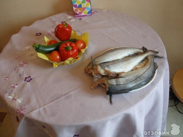 Рецепт: Пикша с овощным рагу - Рецепт.