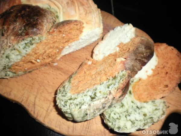 Трехцветный хлеб
