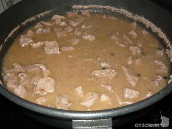 Рецепты гуляша из говядины без томатной пасты рецепт