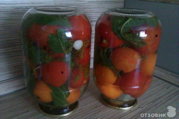 Рецепт Консервированные помидоры фото