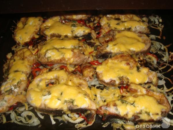 Фото рецепт толстолобика в духовке