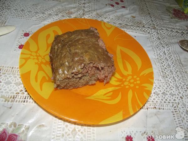 Рецепт Запеканка из печени фото