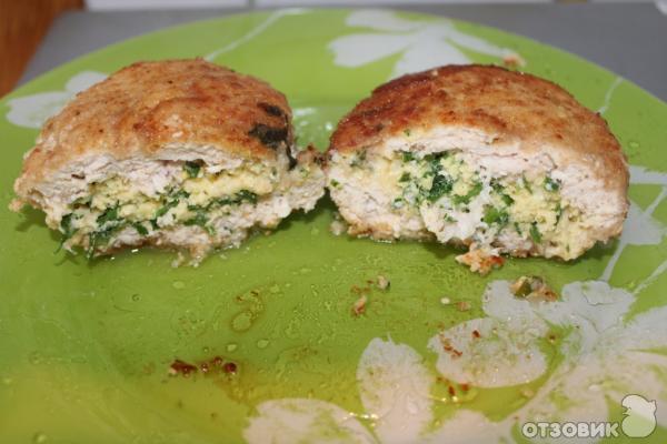 Куриные котлеты фаршированные сыром рецепт