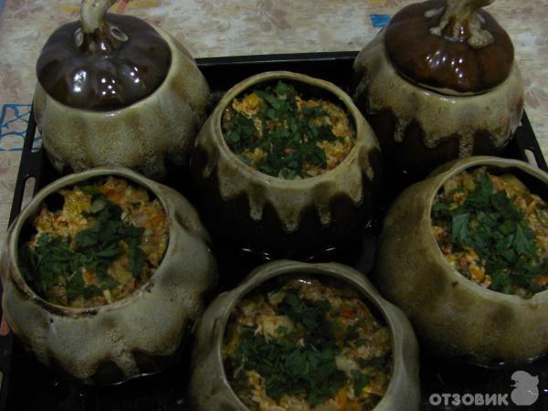 Рецепт в горшочках в духовке с мясом и картошкой с пошаговое