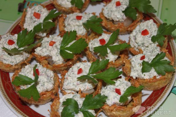 корзинки рецепты с фото праздничный стол