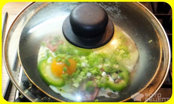 Рецепт Яичница по-английски фото