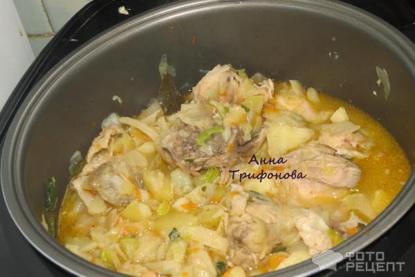 Тушеная картошка с курицей и капустой рецепты