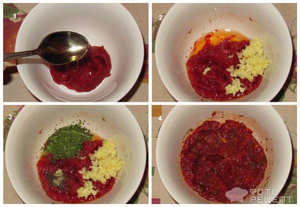 томатный соус из томатной пасты рецепт для пиццы