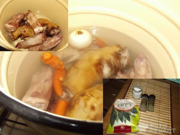 холодец из говяжьих ножек рецепт с фото