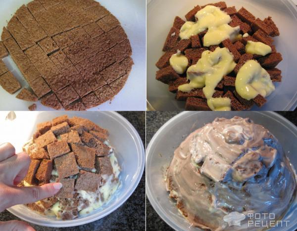 Рецепт Торт из готовых коржей фото