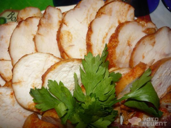 Рецепт Пасторма из куриной грудки фото