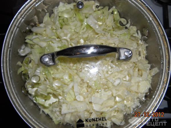 Тушить капусту в кастрюле рецепт