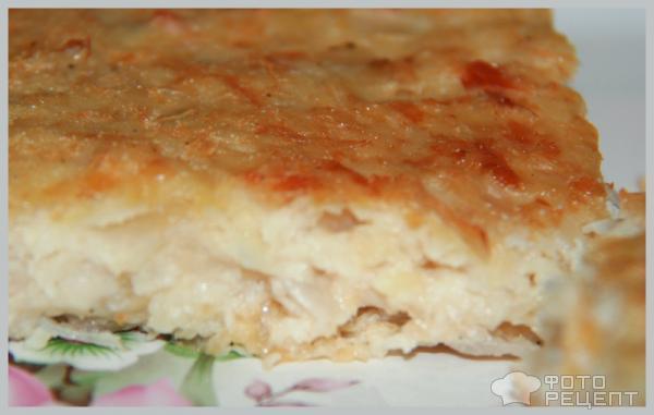 Рецепт Запеканка из капусты с манной крупой фото.