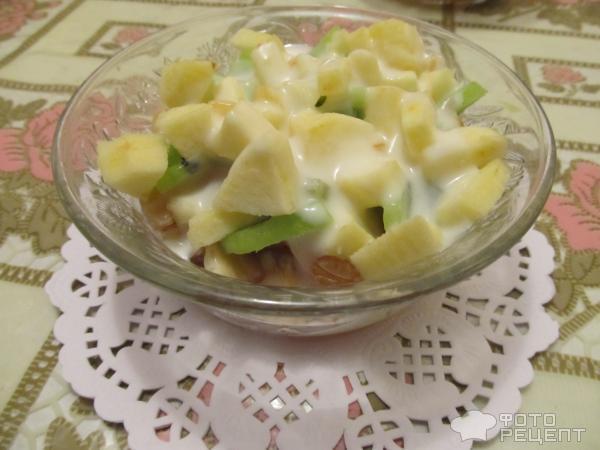 Как сделать фруктовый салат с йогуртом в домашних условиях