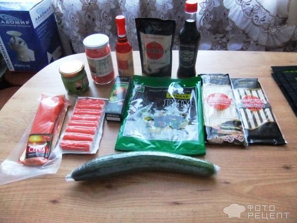 роллы рецепты с фото в домашних