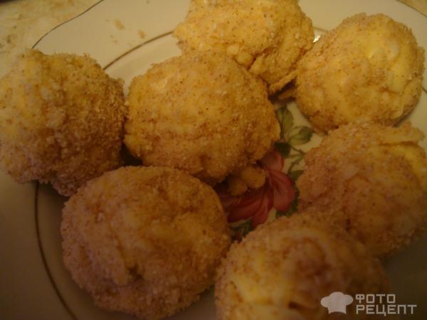 Сырные шарики жареные в масле рецепт с пошагово