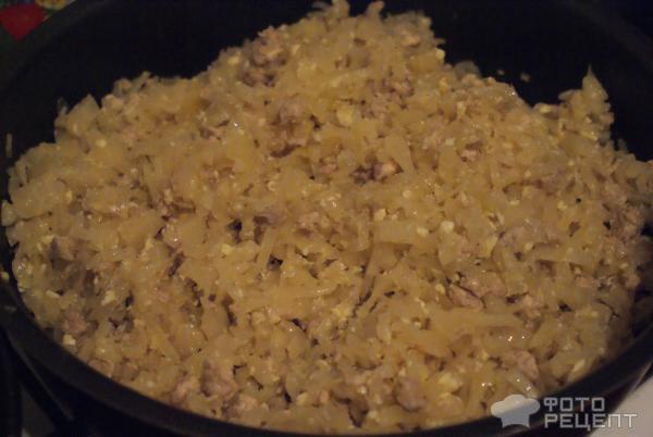 """Пирожки с фаршем и капустой """"Бирокс"""" – кулинарный рецепт"""