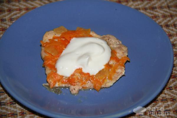 Рецепт Горбуша, запеченная в духовке фото