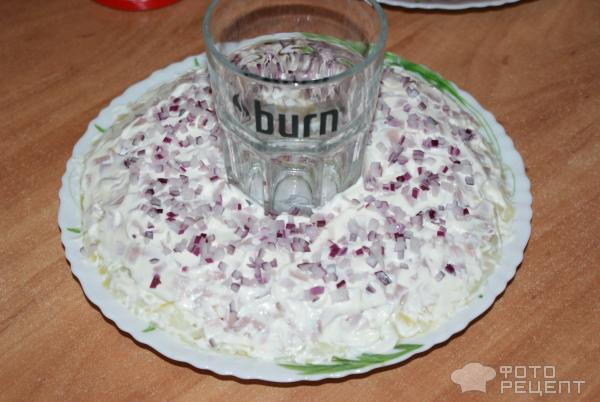 Салат гранатовое кольцо рецепт фото