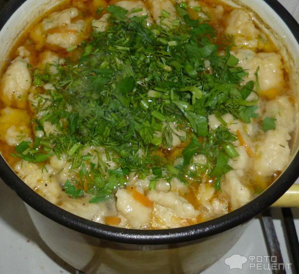 Как сделать галушки для супа рецепт с фото
