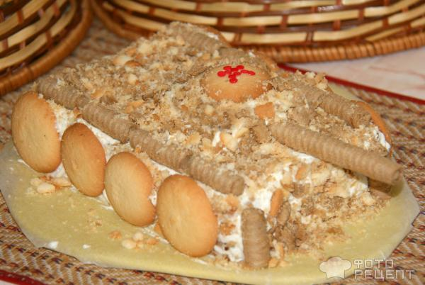 Торт из печенье своими руками фото