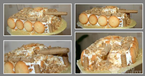 Торт Танк  пошаговый рецепт с фото