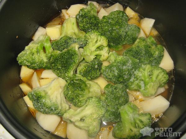 Овощи с курицей рецепт