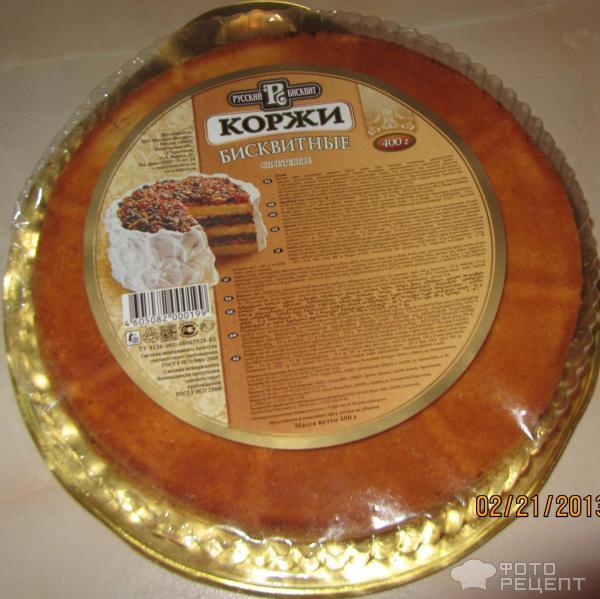 Торты из магазинных коржей рецепты с фото
