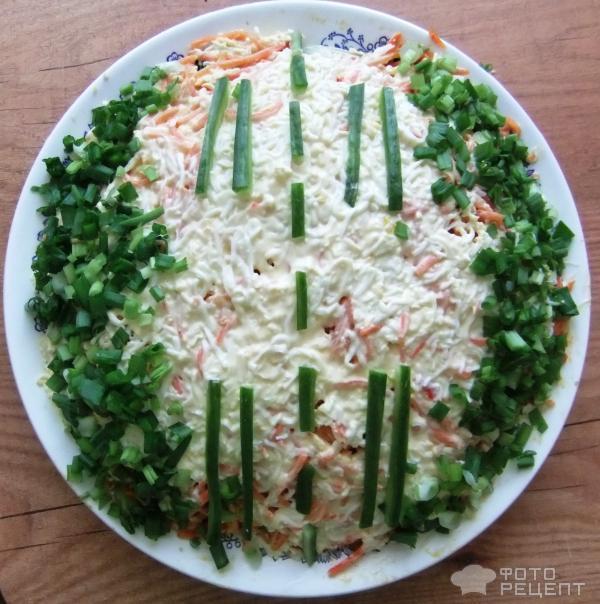 Рецепт салата взлетная полоса фото