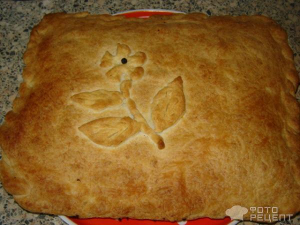 Печень в слоеном тесте рецепт