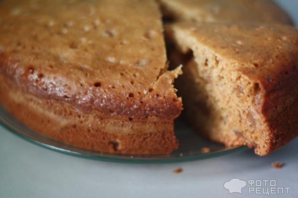 Рецепт Быстрый пирог с вареньем фото