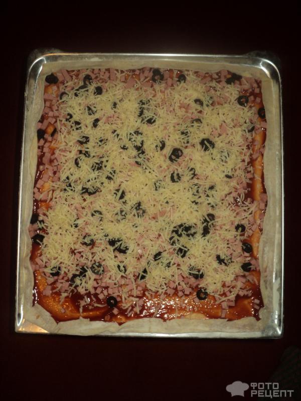 99Пицца итальянская без дрожжей рецепт