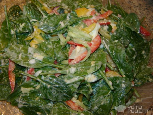 Рецепт салат Светофор фото