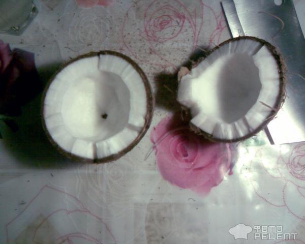 Рецепт Кокосовая стружка фото