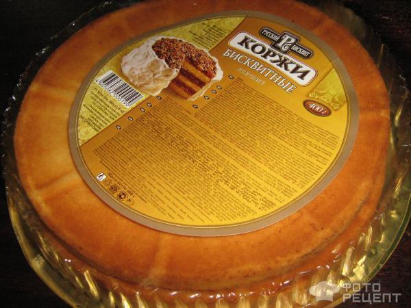 Как сделать торт из готовый коржей
