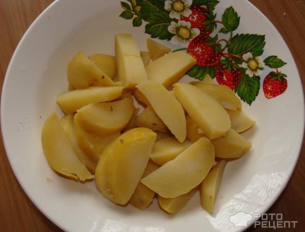 Рецепт Яичница с черемшой фото